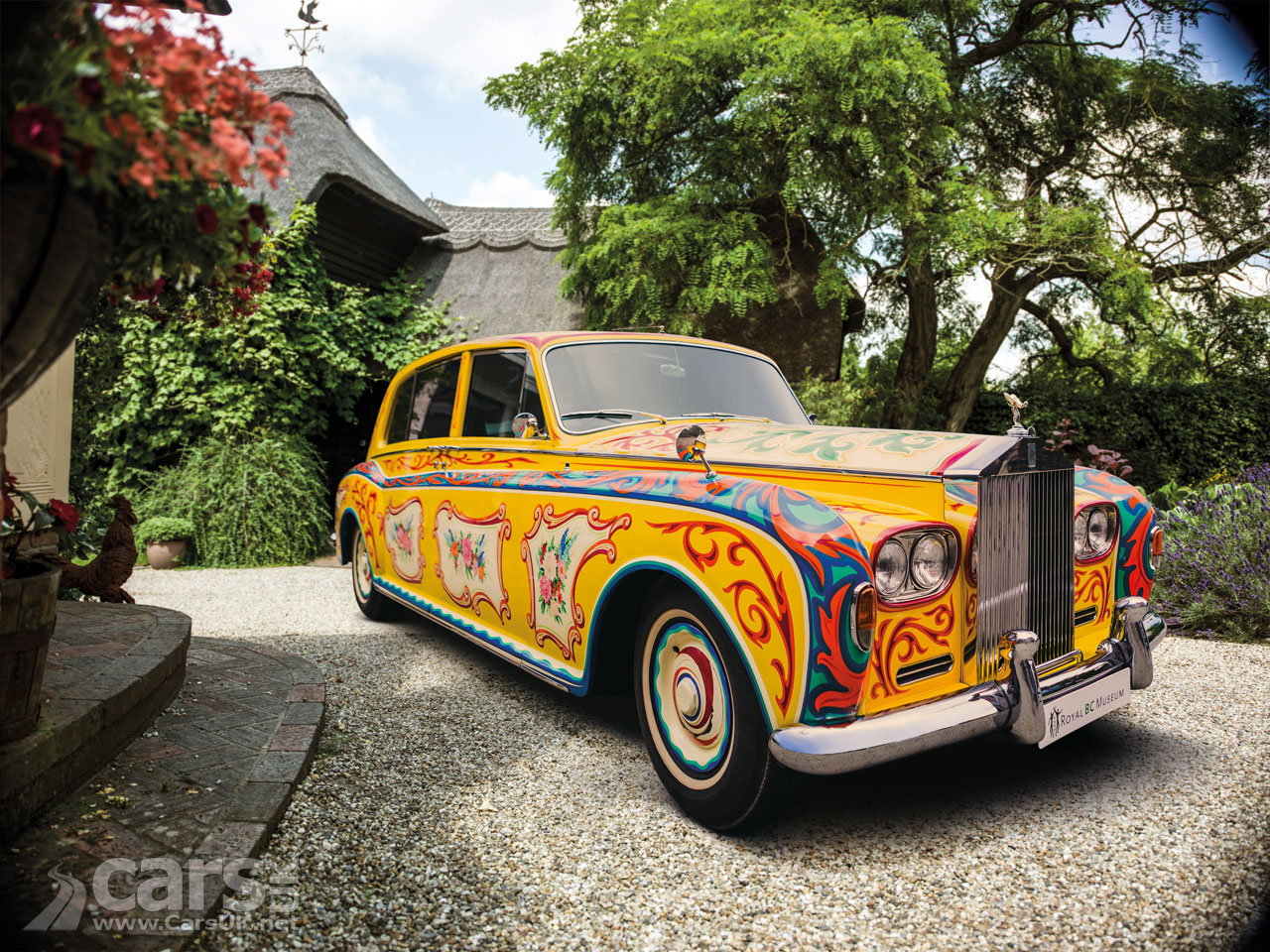 John Lennon's Rolls Royce Phantom V (pictured) is one of the 'Great Eight Phantoms'