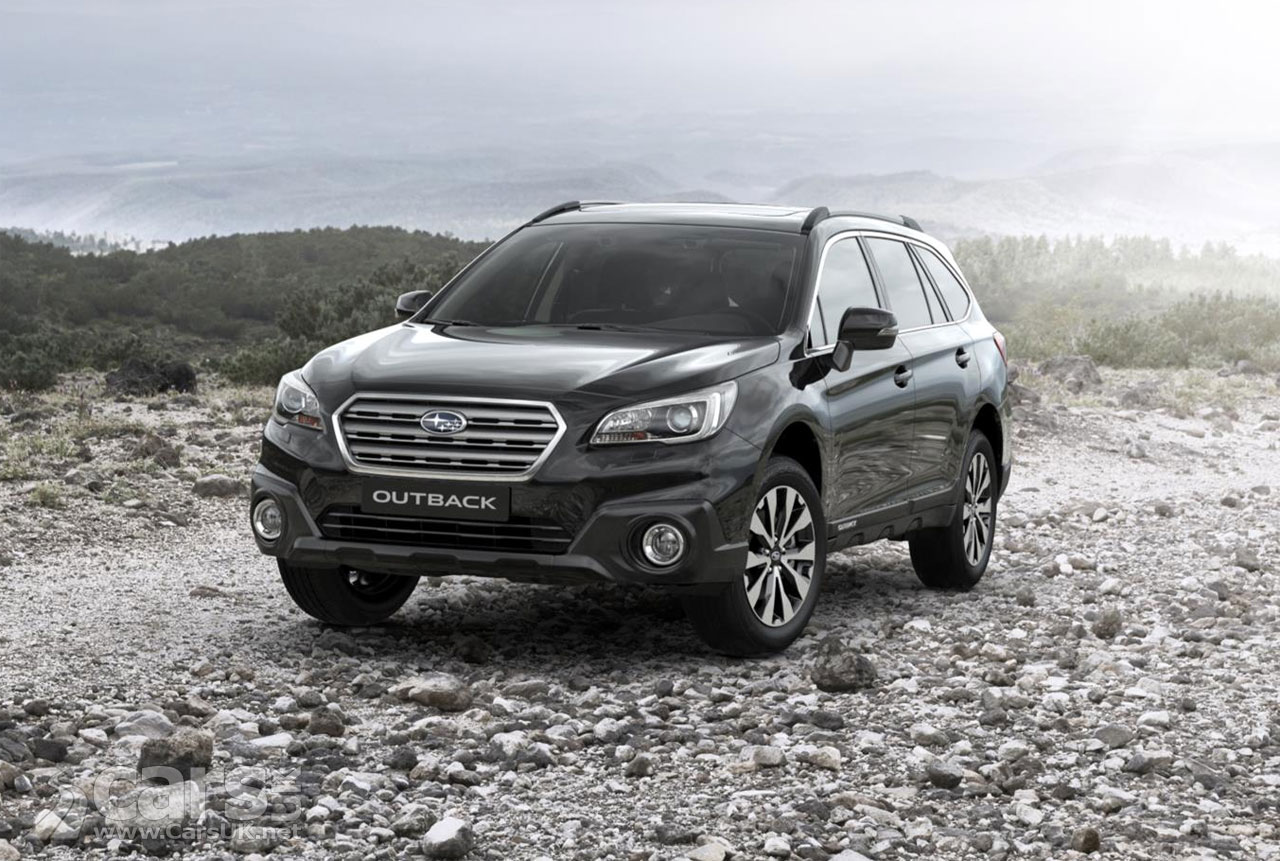 Subaru Outback Black & Ivory Special Edition revealed