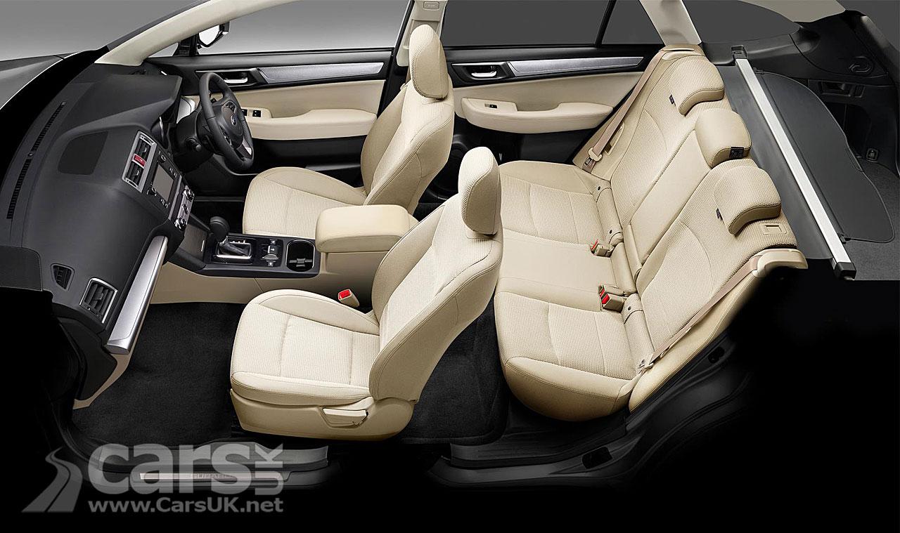 Subaru Outback Black & Ivory Special Edition interior