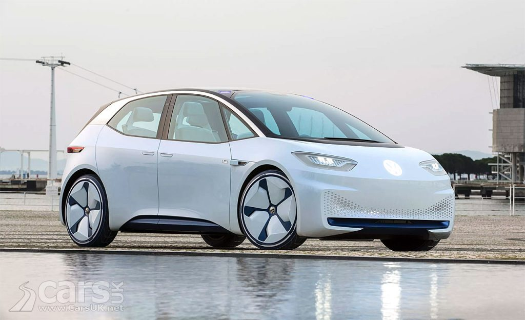Volkswagen I.D. electric car will cost LESS than the Tesla Model 3