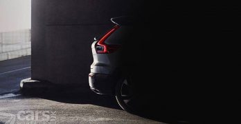 First Volvo XC40 Photo Tease leaks early – thanks to Volvo in Germany