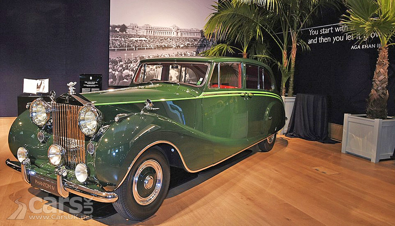 The Aga Khan's Rolls Royce Phantom IV