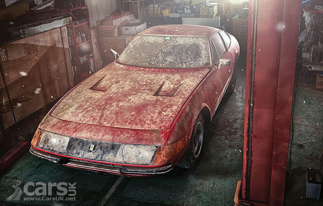 One-off Aluminium-bodied Ferrari Daytona BARN FIND
