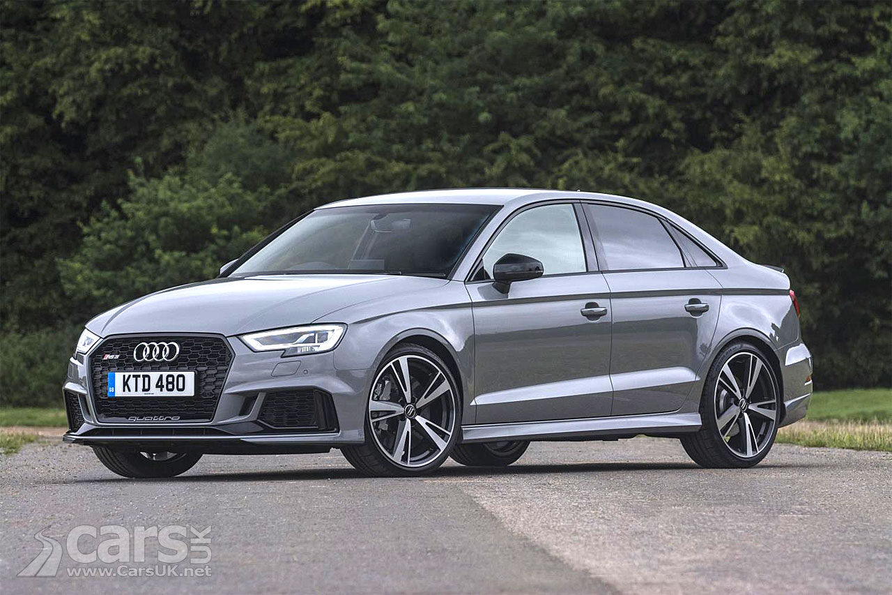 2017 Audi Rs 3 Saloon Amp Sportback Go On Sale In The Uk