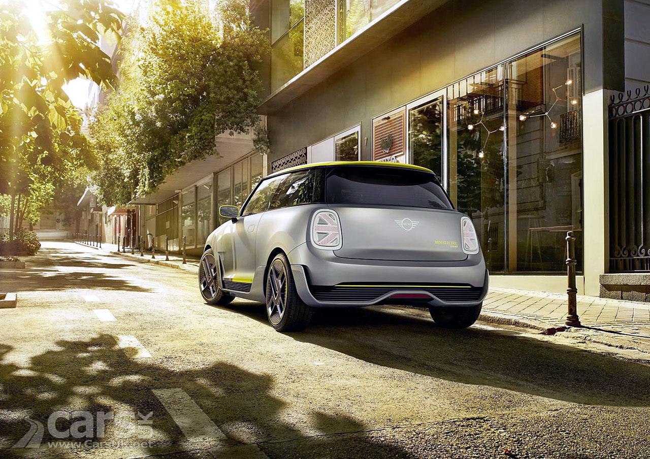 MINI electric Concept Rear View