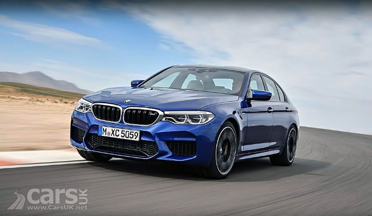 2018 BMW M5 LEAKS ahead of BMW's planned reveal