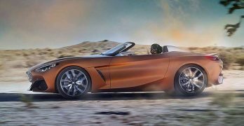 2018 BMW Z4 (or maybe BMW Z5) LEAKS ahead of today's Pebble Beach debut