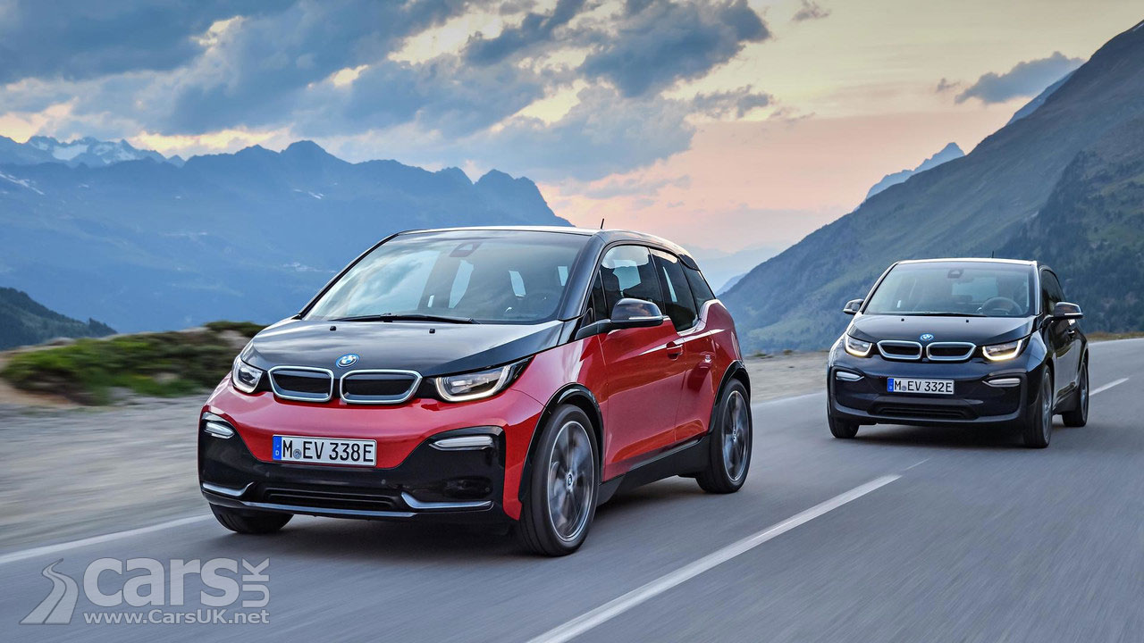 BMW I3S REVEALED As The Sporty I3 Facelift