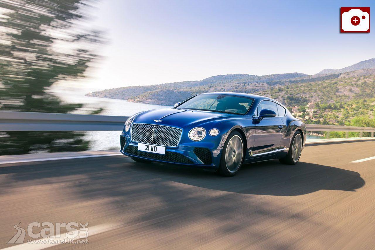 2018 Bentley Continental GT REVEALED ahead of Frankfurt debut