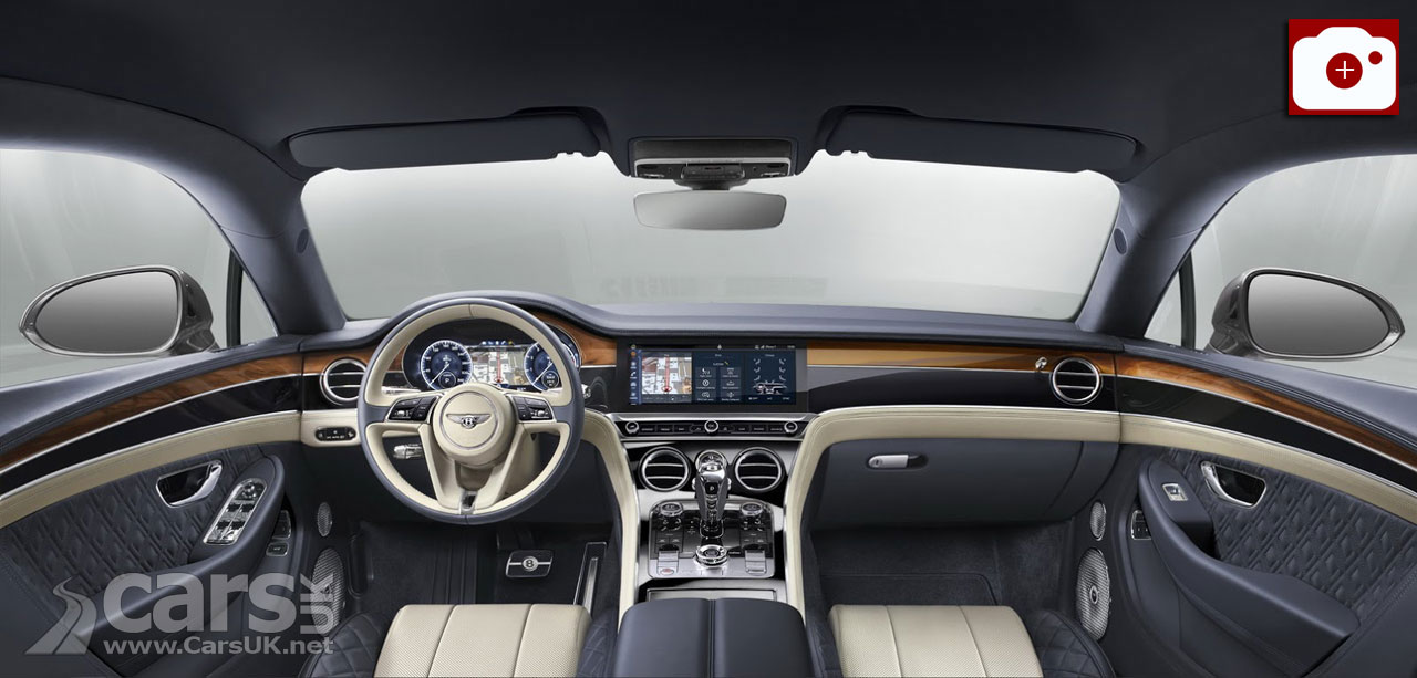 2018 Bentley Continental GT Interior gets new technology including a revolving infotainment screen