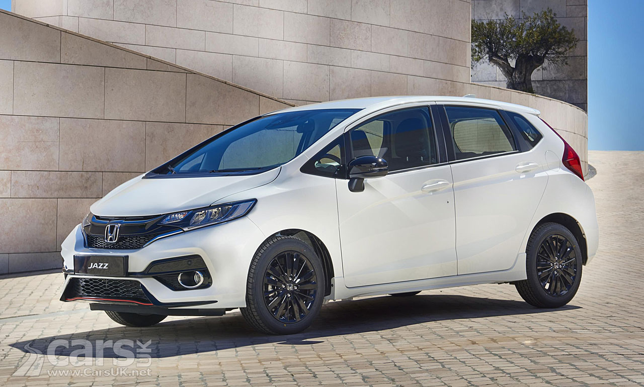 Honda Jazz facelift revealed for Europe