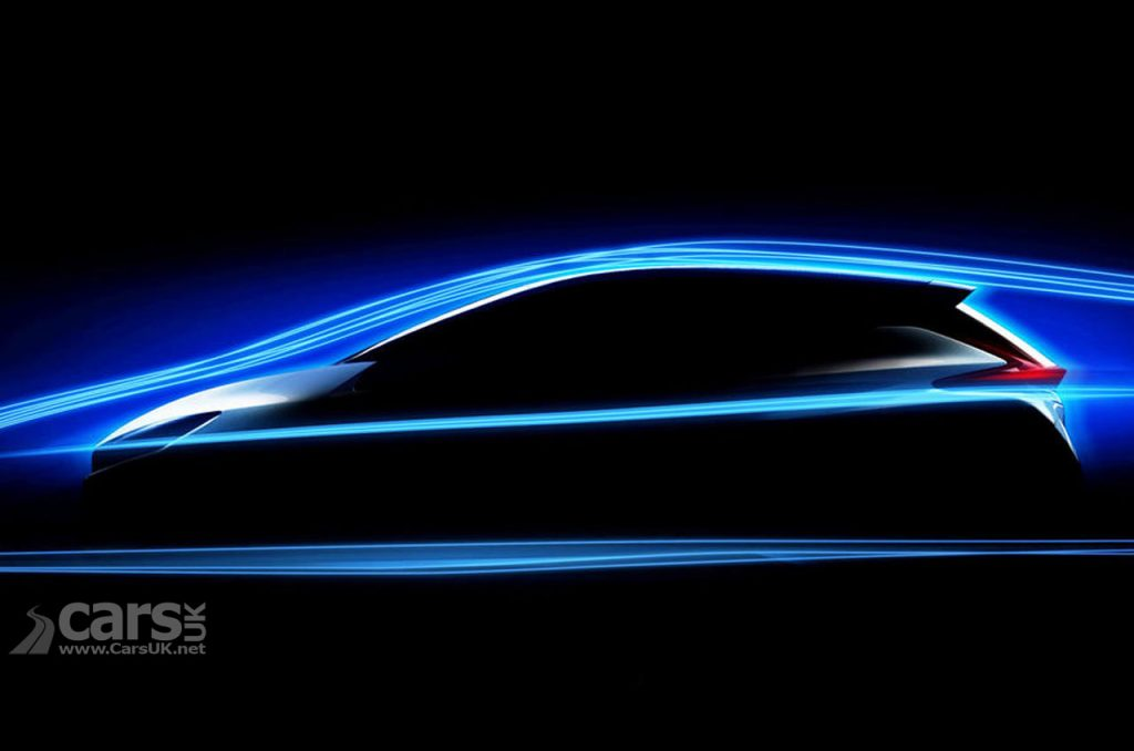 2018 Nissan LEAF Dynamic Design teased with new photo of Nissan's new electric bedrock