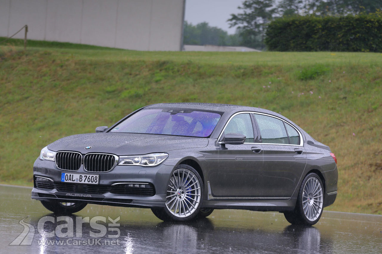 Alpina B7 Bi Turbo Alpina S Take On The Bmw 7 Series Hits The Uk
