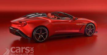 Aston Martin Vanquish Zagato Shooting Brake & Speedster add to AML's Zagato offerings