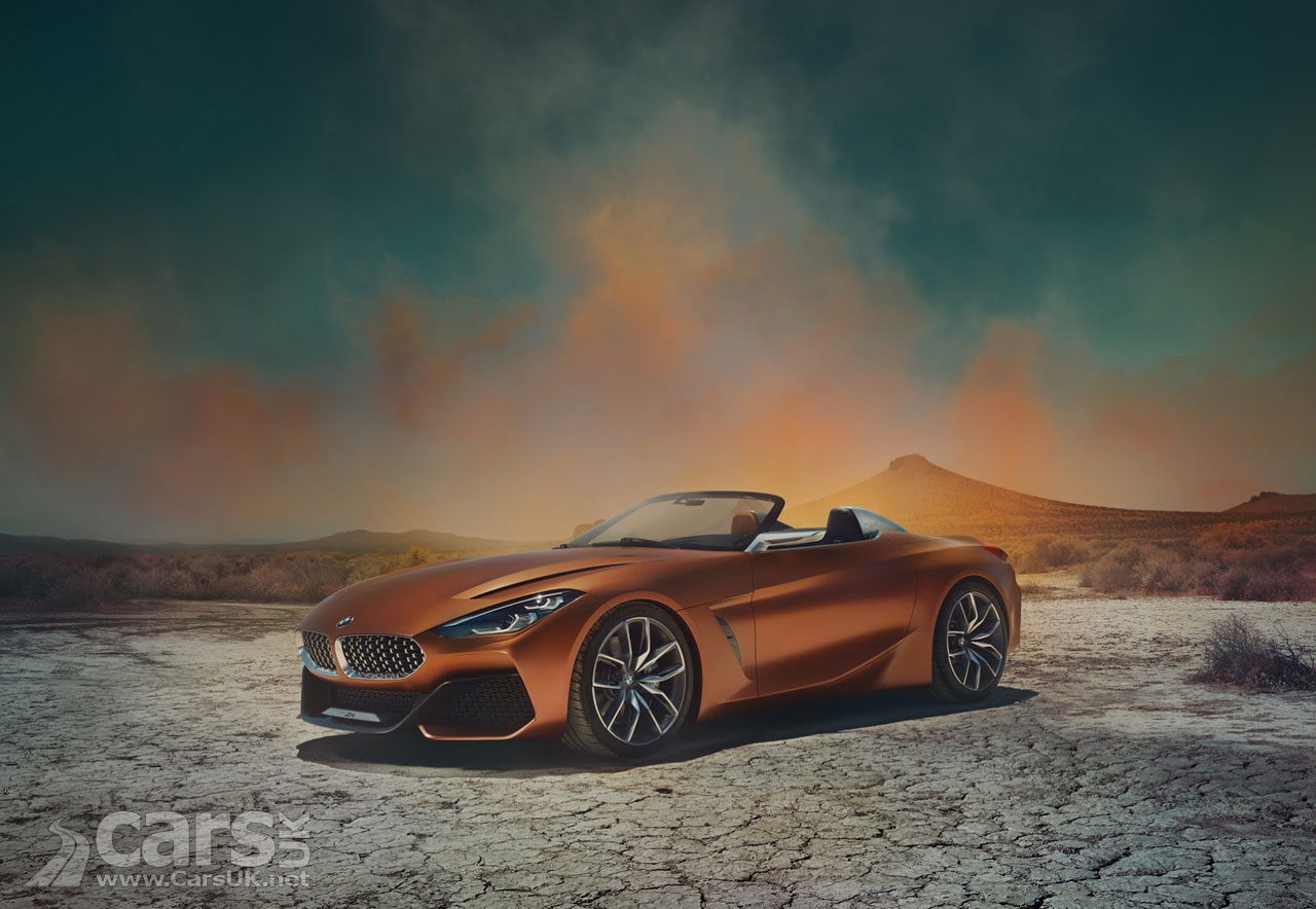 Bmw Concept Z4 Not The Bmw Z5 Officially Revealed At