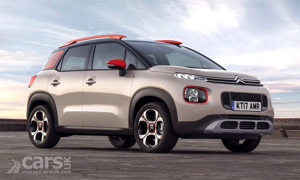 New Citroen C3 Aircross (pictured) - Citroen's Picasso turned SUV - UK prices from £13,995