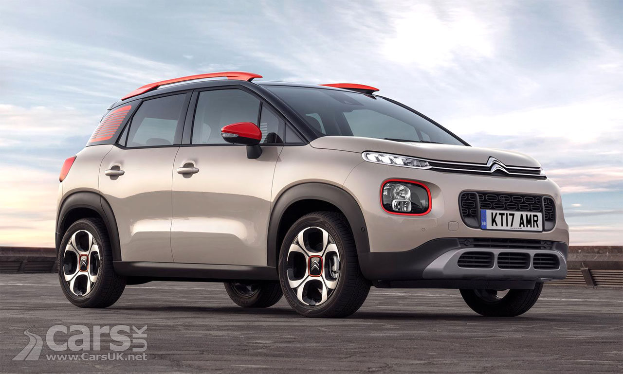 New Citroen C3 Aircross SUV to cost from £13995