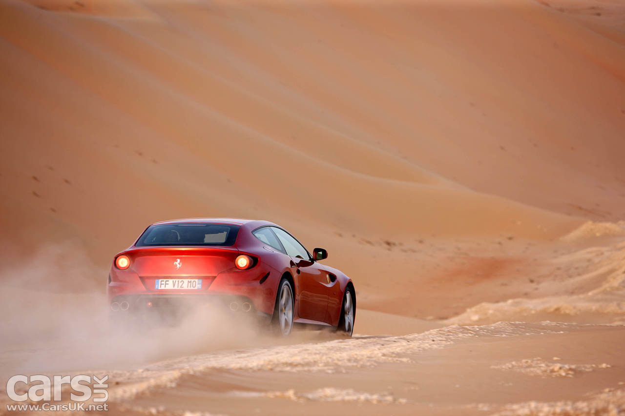The Ferrari FF- Ferrari's'almost SUV. But now there will be a real Ferrari SUV