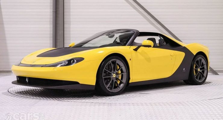 Ferrari Sergio - one of six Pininfarinai specials - up for grabs for £4,000,000