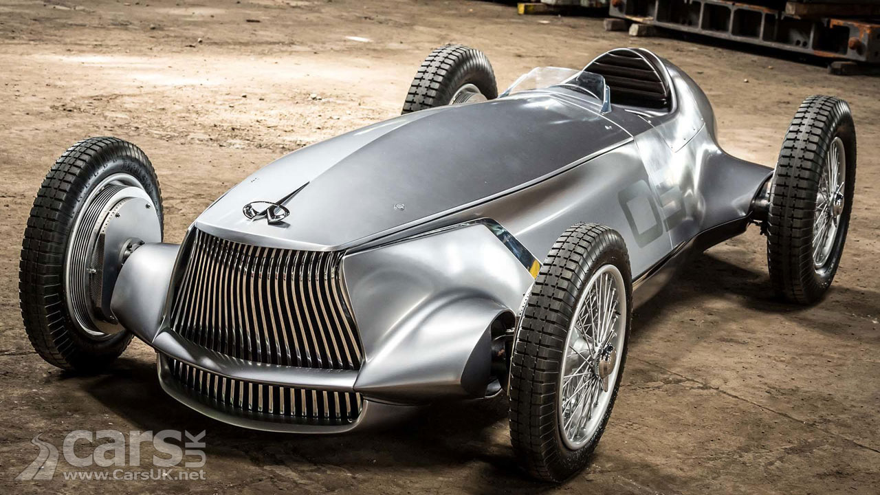 Infiniti Has Built A 1940s-Inspired Electric Racing Car, And It's Stunning