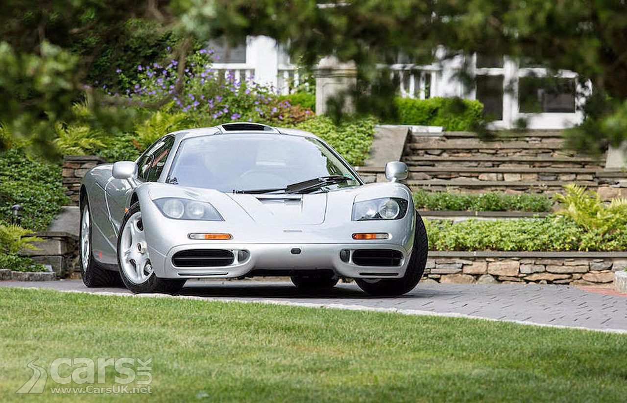 McLaren F1 #044 fetches more than £12 MILLION at auction