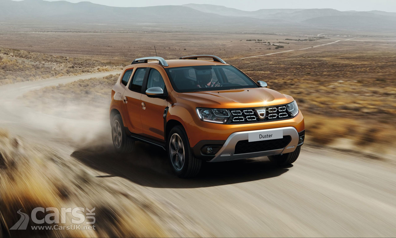 New Dacia Duster arrives with a more UPMARKET look