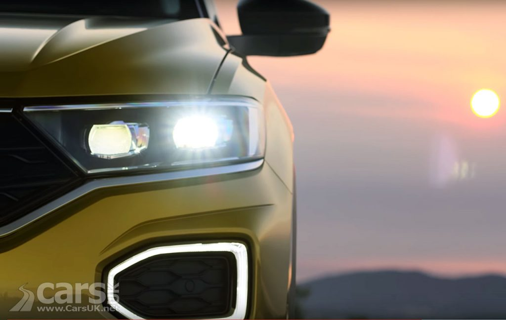 Volkswagen T-ROC SUV teased on video