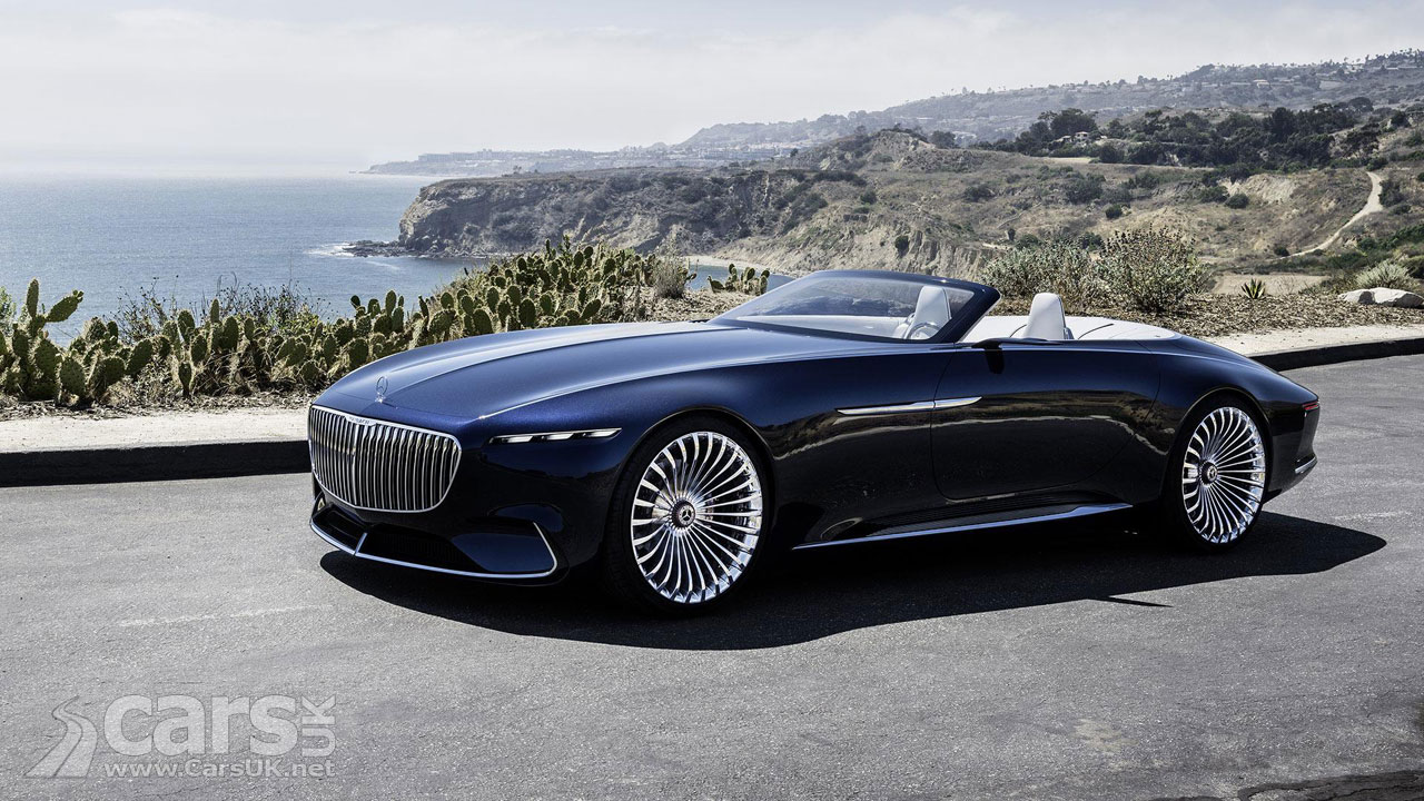 The Vision Mercedes Maybach 6 Cabriolet Is An Electric