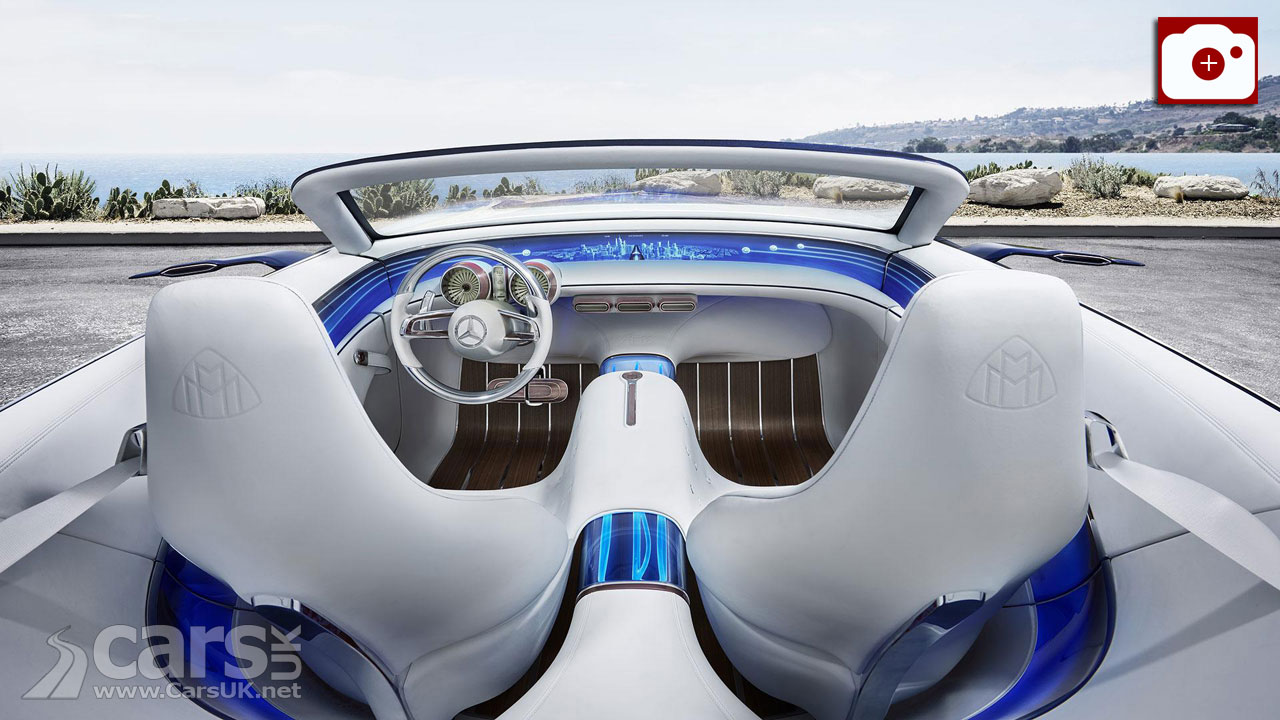 Vision Mercedes-Maybach 6 Cabriolet has room for just two
