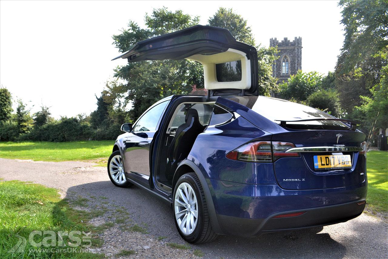 2017 Tesla Model X Review Performance