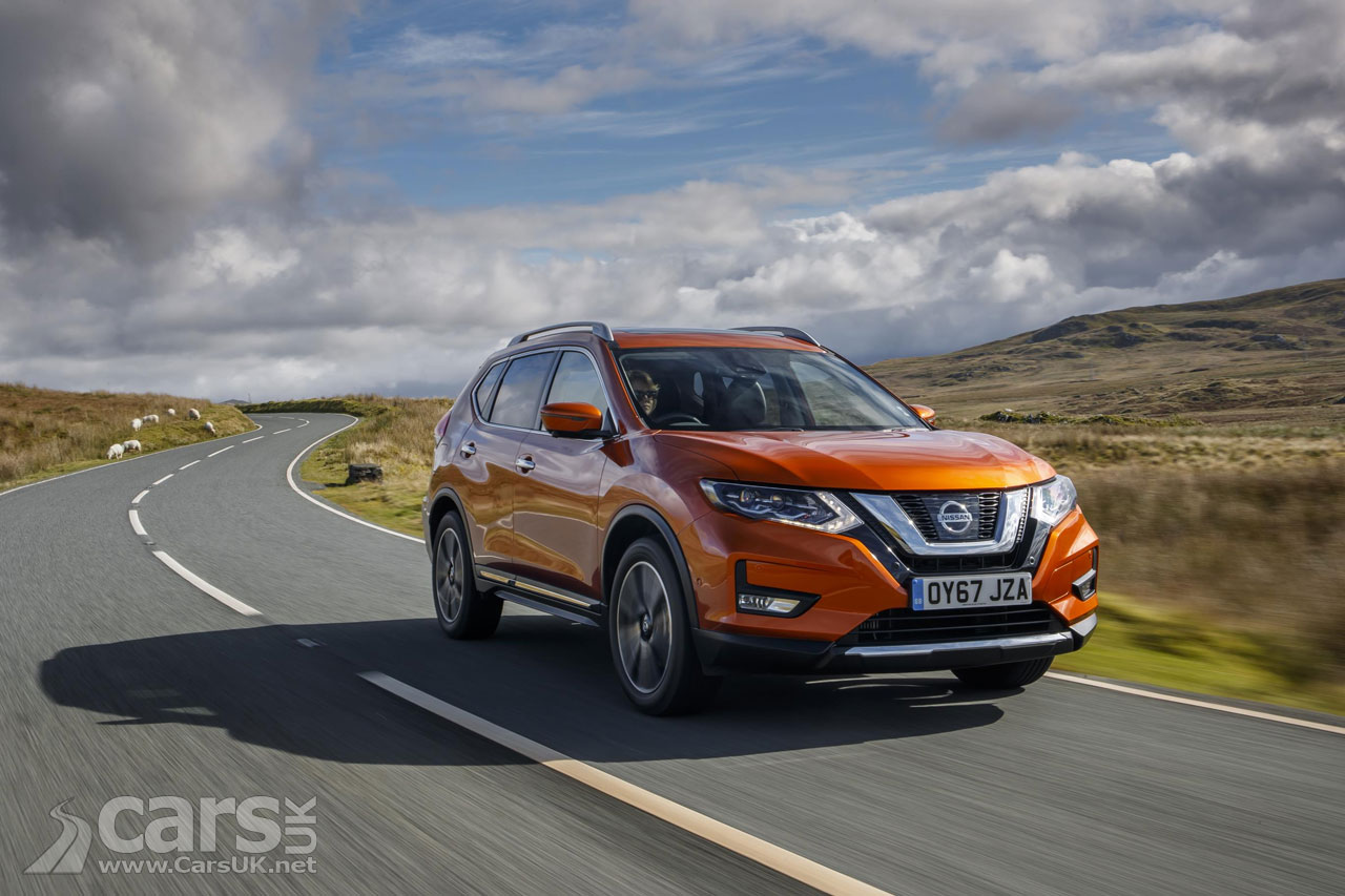 nissan x trail suv facelift goes on sale in the uk costs from 23 385 cars uk. Black Bedroom Furniture Sets. Home Design Ideas