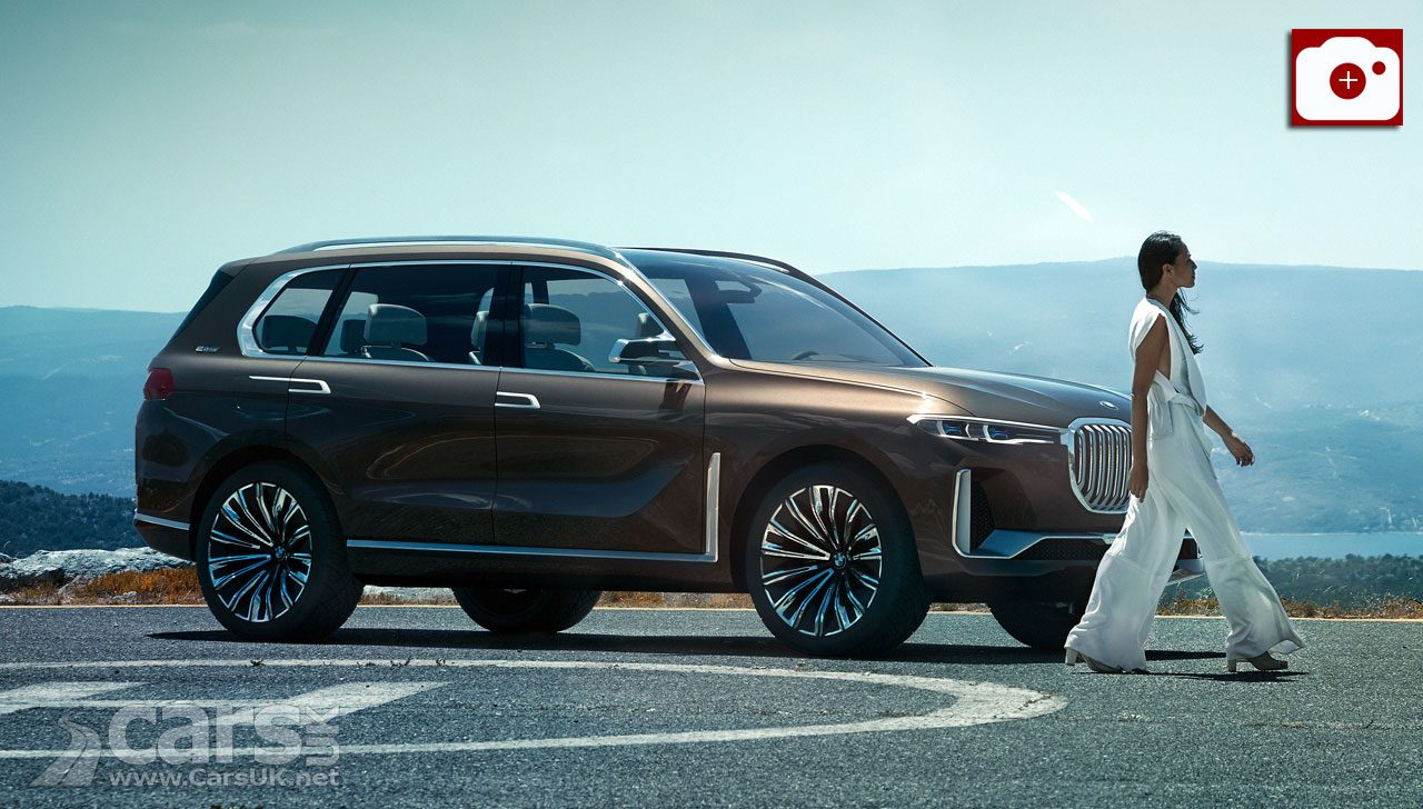 BMW X7 Concept (pictured) previews BMW's new, big luxury SUV