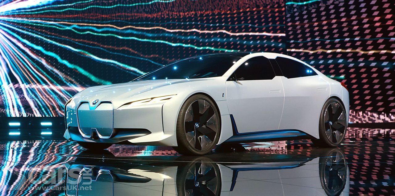 BMW i5 ELECTRIC Tesla-Basher previewed by BMW's i Vision Dynamics