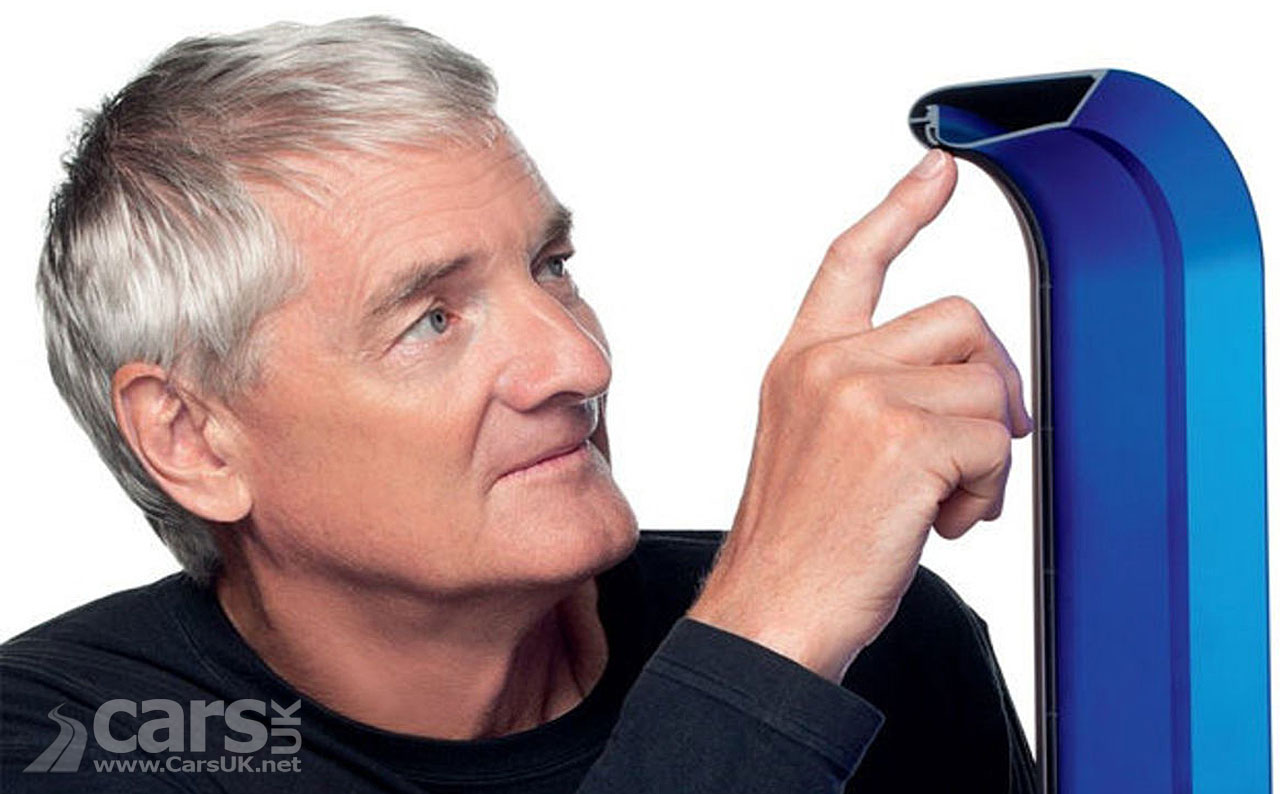 A Dyson Electric Car by 2020? James Dyson must have cracked Solid State batteries