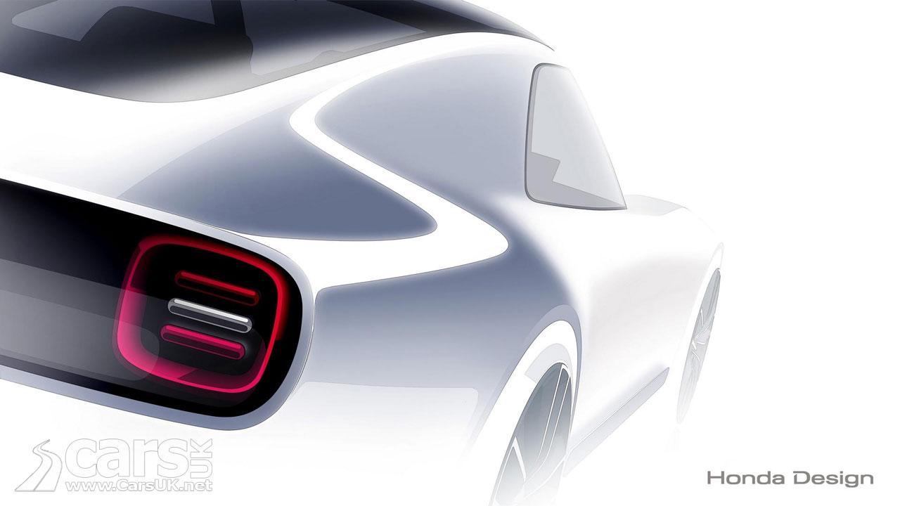 Honda Sports EV Concept teased ahead of a Tokyo Motor Show debut