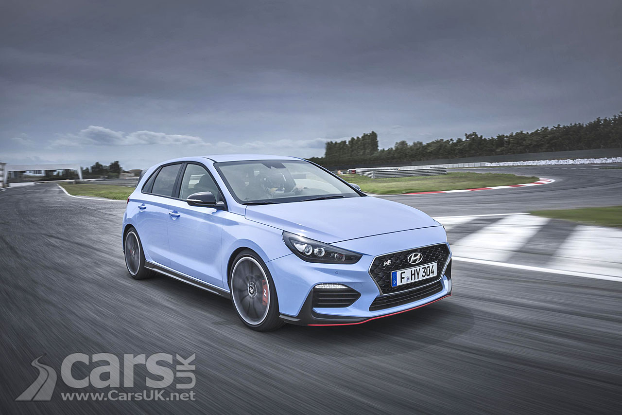 Hyundai i30 N Hot Hatch goes on sale in the UK in January