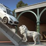 Jaguar E-Pace SUV goes SURREAL as it challenges the new Volvo XC40