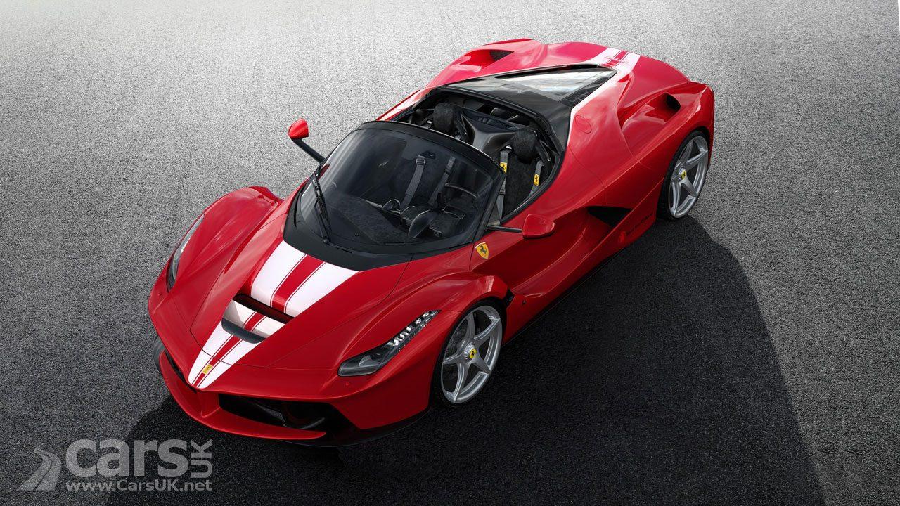 The last Ferrari LaFerrari Aperta sells for £7.5 MILLION
