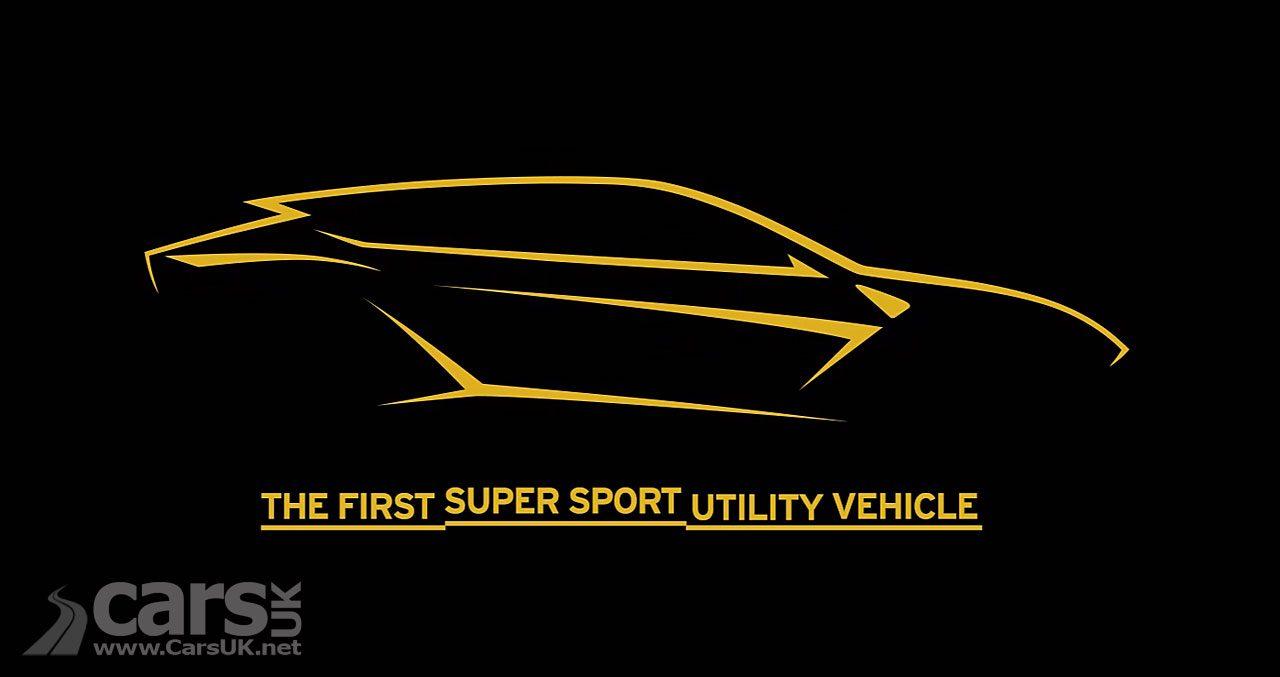 Lamborghini Urus SUV TEASED on video