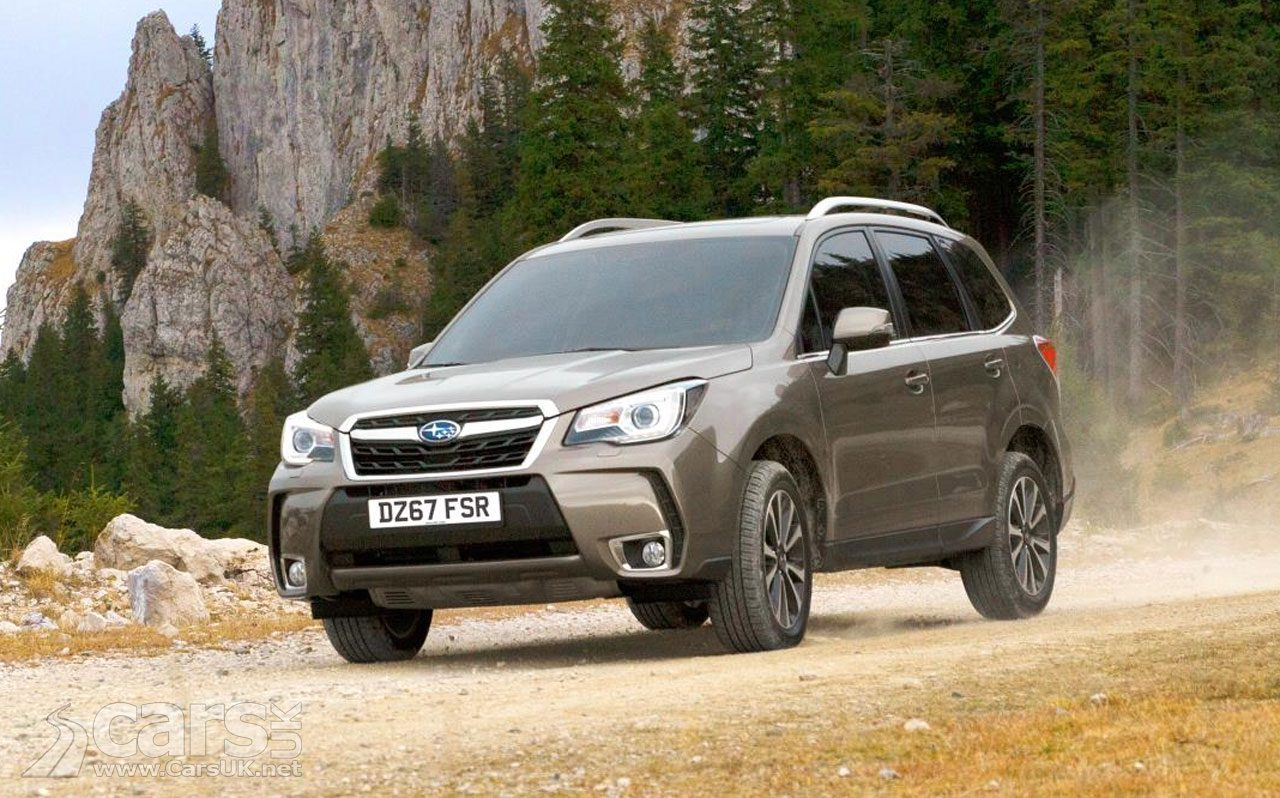 Subaru Forester can now see what's going on with 'EyeSight'