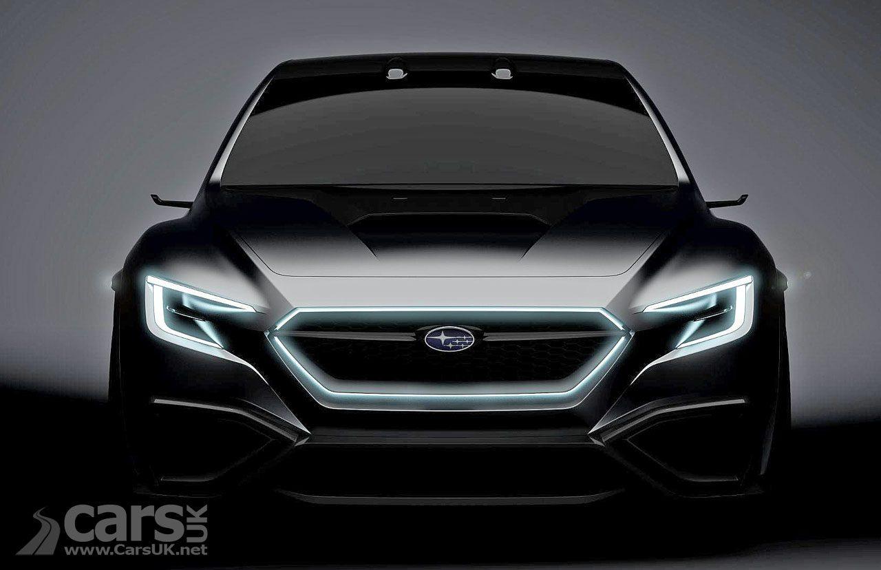 Subaru VIZIV Performance Concept tease