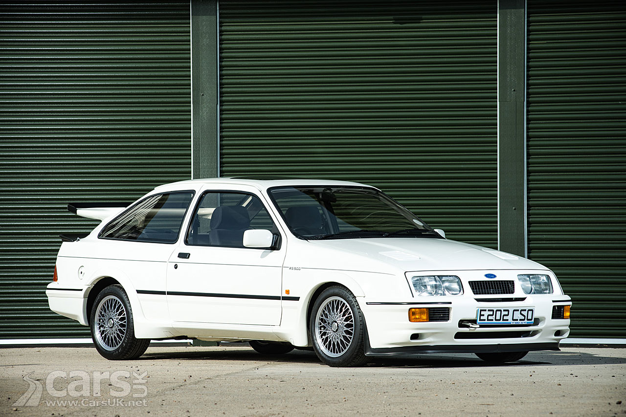 'As New' 1988 Ford Sierra Cosworth RS500 up for auction