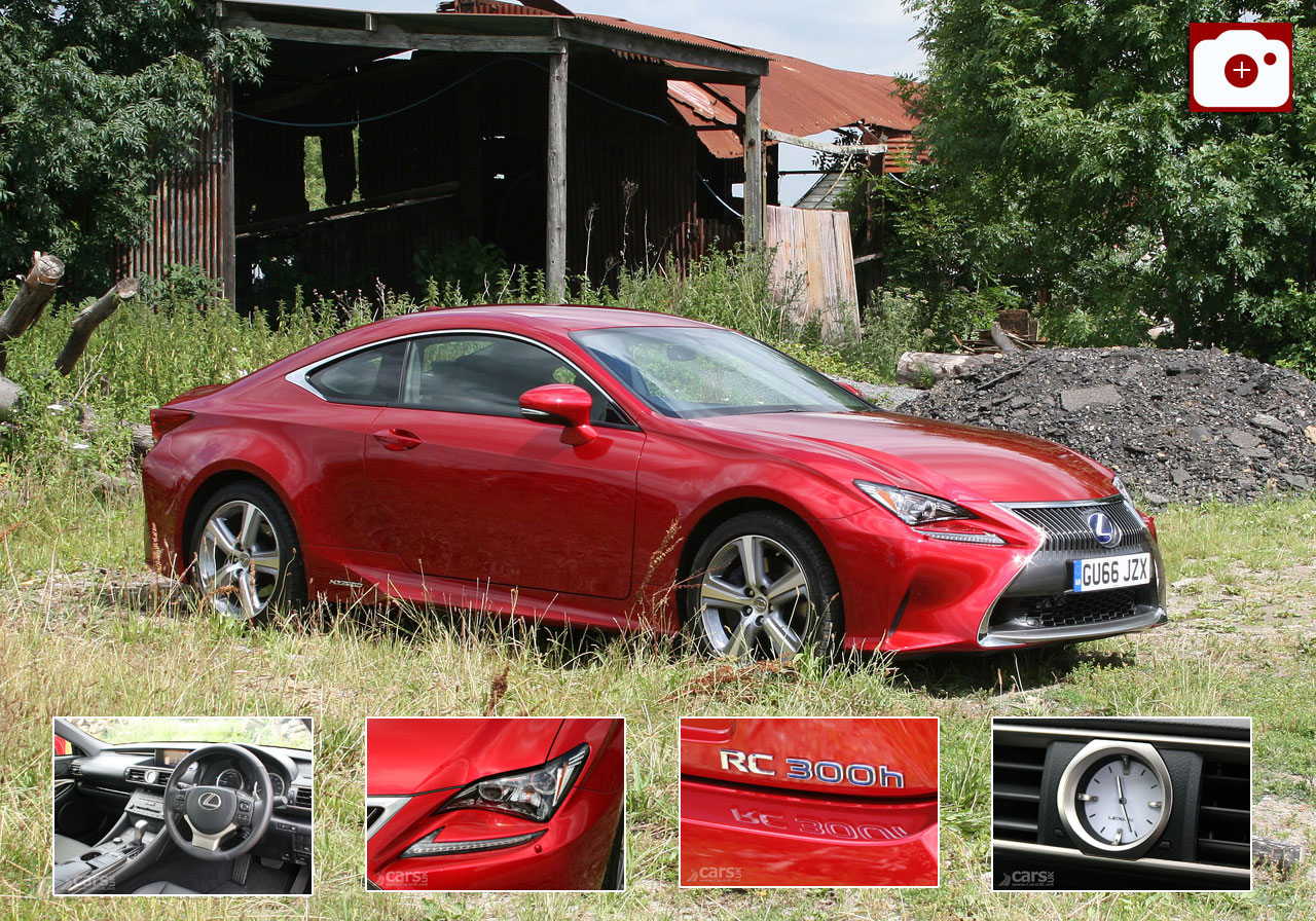2017 Lexus RC 300h Review Photo Gallery