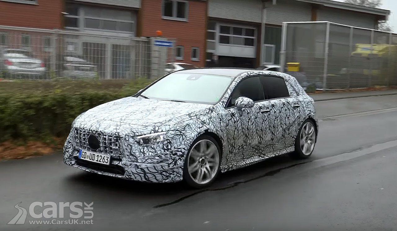 2018 Mercedes-Benz A-Class caught on video