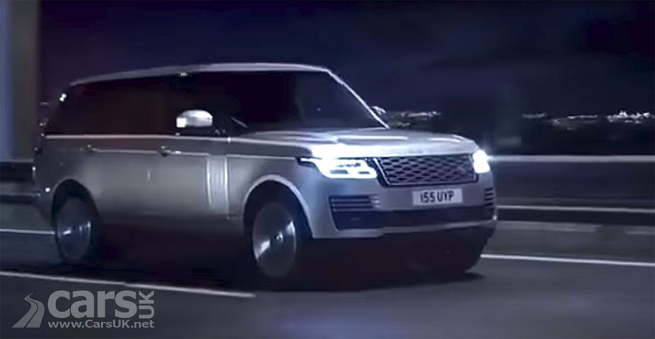 2018 Range Rover update LEAKED on video