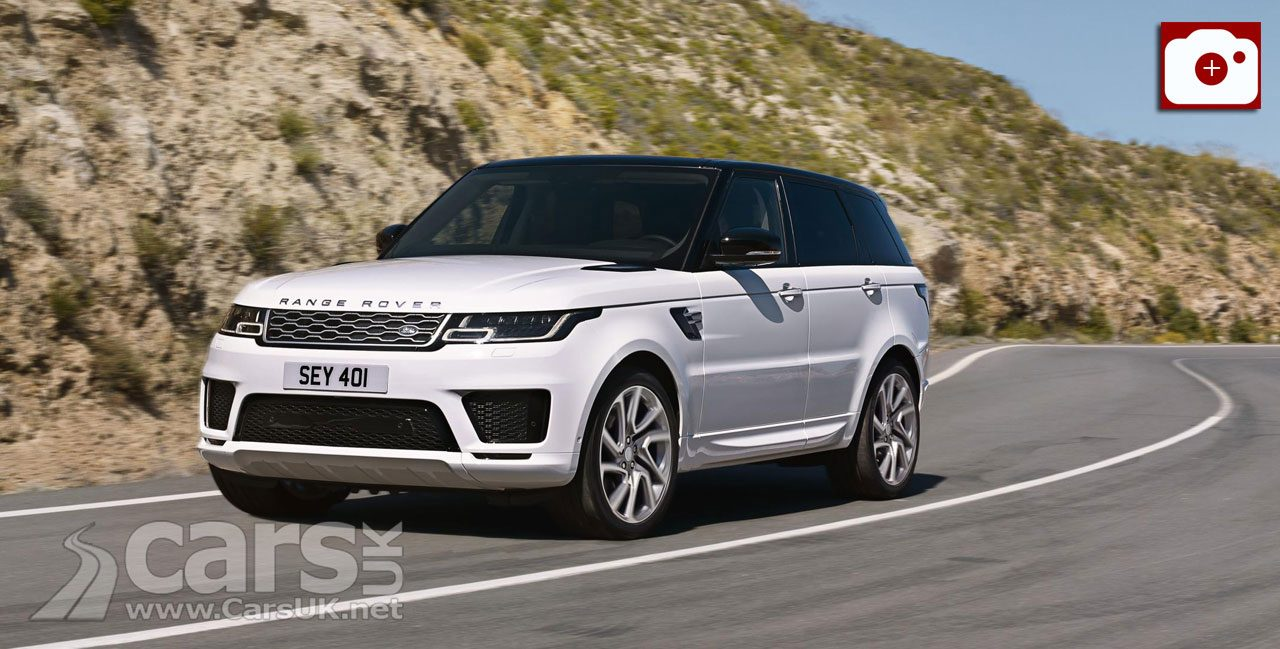 Range Rover Sport gets a Facelift - and there's a new plug-in HYBRID Sport too (pictured)