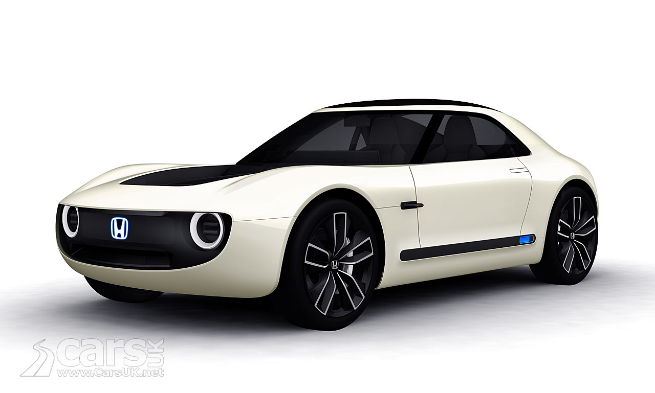 Honda Sports EV Concept REVEALED at the Tokyo Motor Show