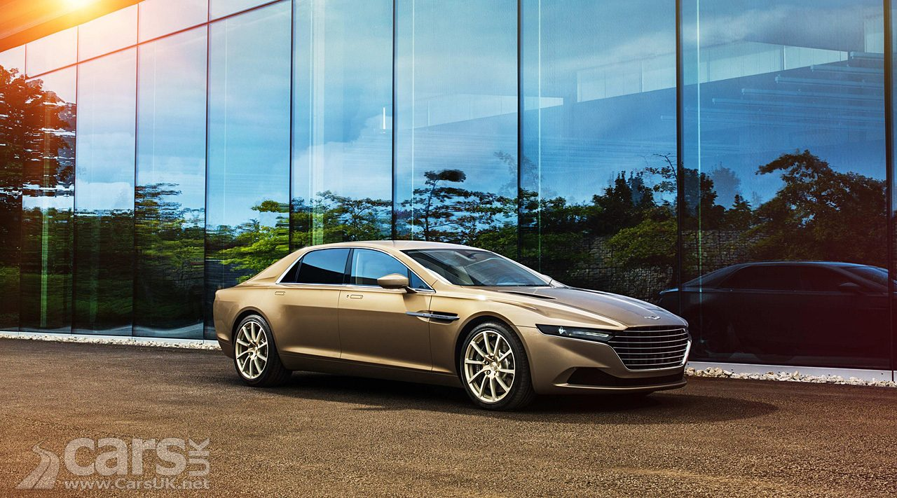 Aston Martin CONFIRMS two new Lagonda models (Lagonda Taraf pictured