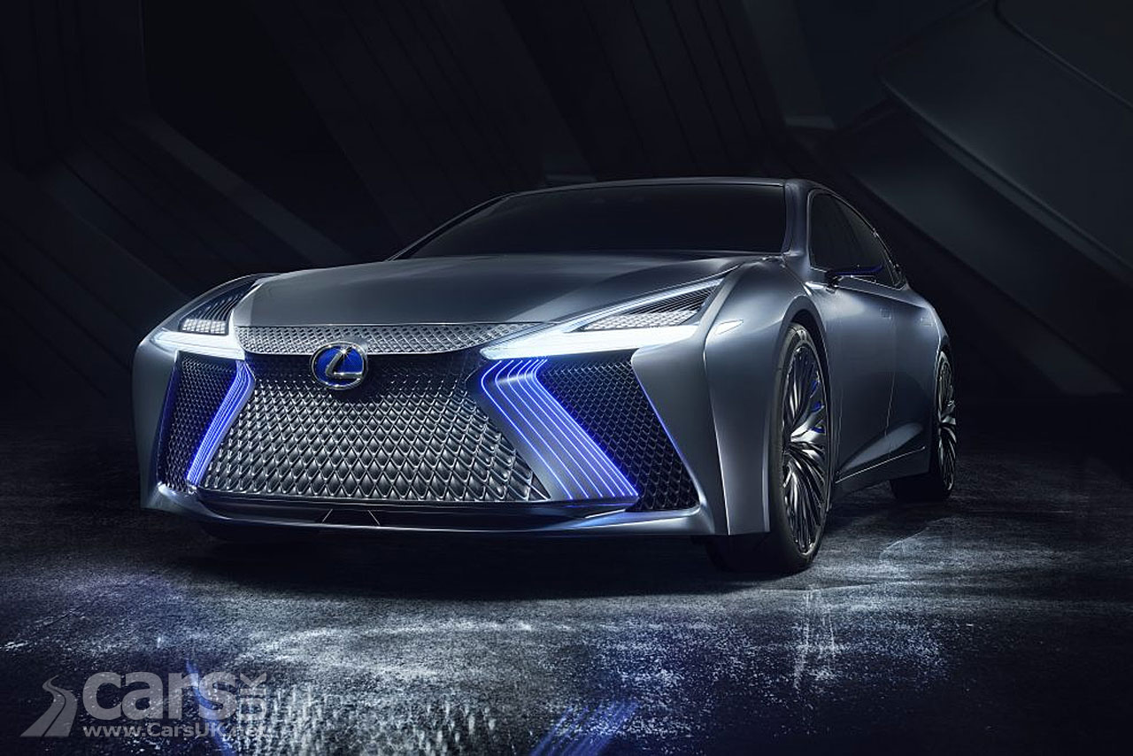 Lexus Ls Concept Revealed At The Tokyo Motor Show Cars Uk