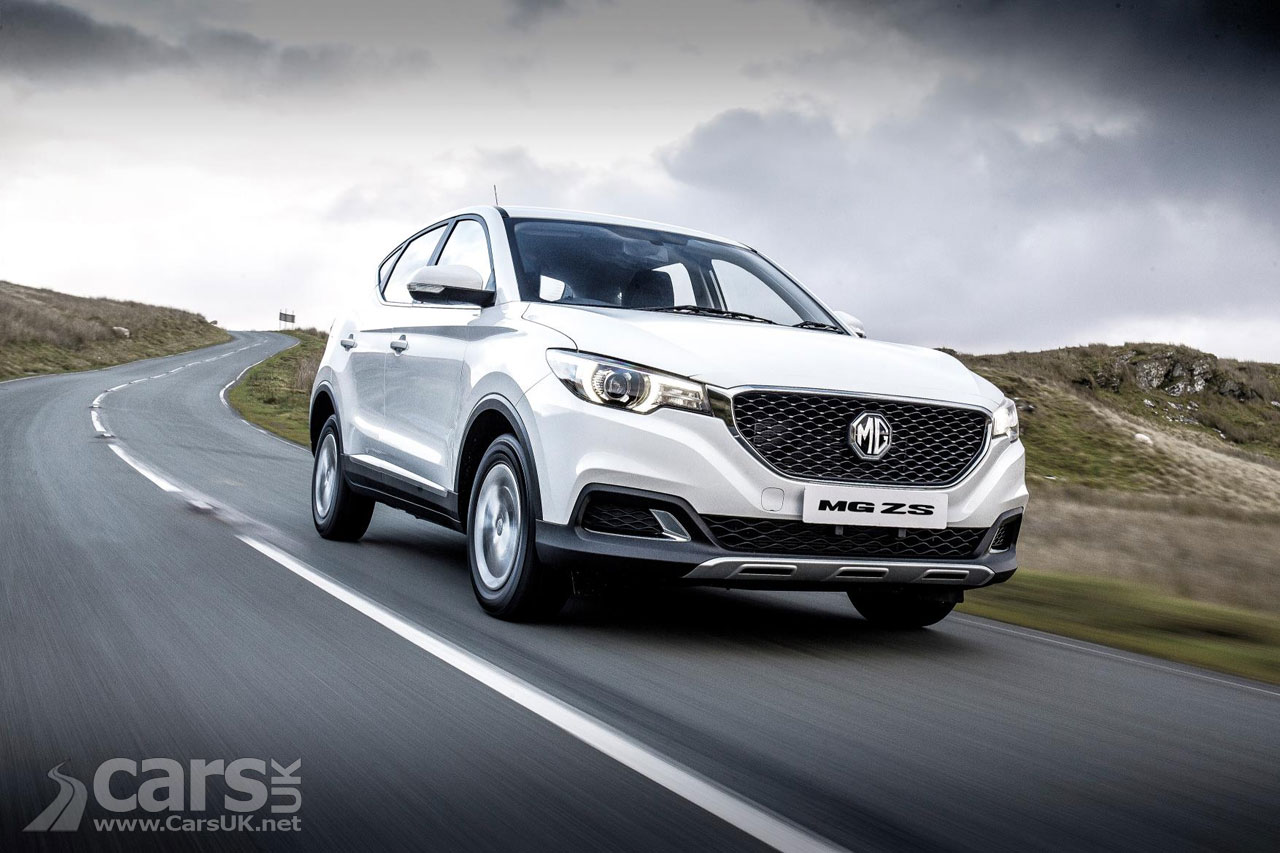 new mg zs compact suv goes on sale in the uk cars uk. Black Bedroom Furniture Sets. Home Design Ideas